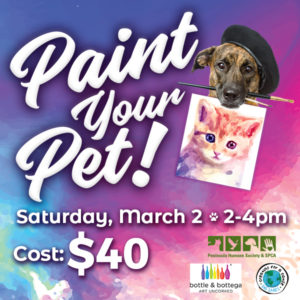 Paint Your Pet @ Bottle & Bottega
